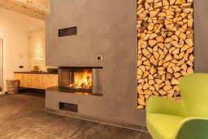 Ofenbau Neuner Tirol Wellnessbereich