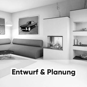Entwurf und Planung Ofen